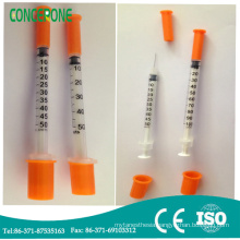 Insulin Syringe 0.5ml 1ml with Needle 29g or 30g