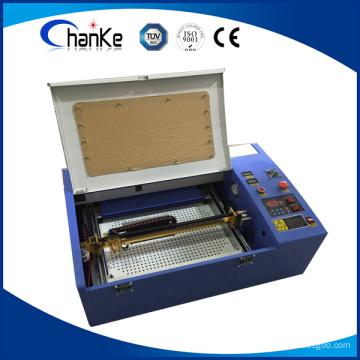 200X300mm Samll Größe 40W Mini CO2 Stempel-Graviermaschine