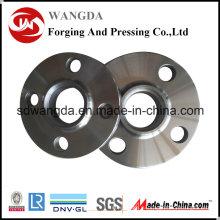 Углеродные стальных кованых Q235 ANSI B16.5 150 фунтов Резьба фланец