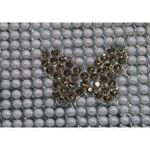 Butterfly Shape Hot Fix Ceramic Rhinestone Sheet 24*40cm