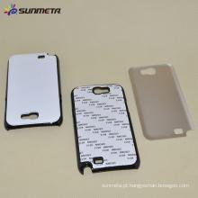 SUNMETA Sublimação de transferência de calor em branco 2D Phone Case