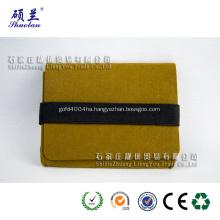 Olive color felt promotional bag for mobile