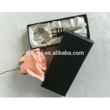 Bouchon de vin en cristal de diamant avec la boîte-cadeau pour le cadeau de souvenirs de mariage