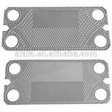 GEA similaire remplacer des plaques de pièces de rechange d'échangeurs de chaleur et de joints d'étanchéité