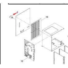 Grand filtre de bruit de magasin de Panasonic de la machine SM60 de Sp60p-M (N263zug2-023)