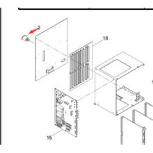 Большой магазин фильтров Панасоник шума от Sp60p-М машина SMT (N263zug2-023)