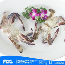 HL003 half cut blue swimming crab in cartons