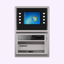 Máquina bancária automatizada sem caixa para montagem na parede ABM