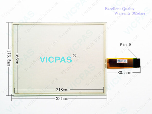 AB 2711P-T10 HMI Panel Glass