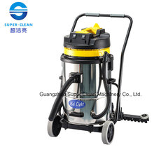 Aspirateur humide et humide 60L en acier inoxydable (inclinaison)
