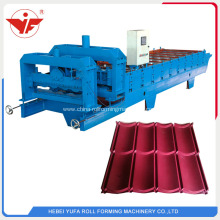 Indoneisa glazed tile roll forming machine