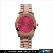 Rose Gold fancy Dame Uhr Mode
