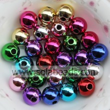 Loose 10mm Colorful Bubble Ball Imitation Swarovski Beads