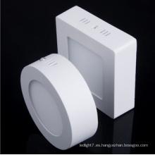 3/4/6/9/12/15/18 / 24W redondo / cuadrado forma LED luz Panel de luz LED