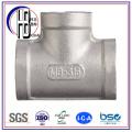 ASTM Butt Soldado de ajuste de acero Tee Bw Igual de reducción