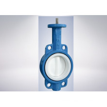 Diagonal Square Head Butterfly Valve