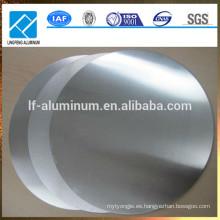 De Buena Calidad Deeply dibujar círculos de aluminio Precio 1060/1070 Círculos de aluminio para utensilios de cocina