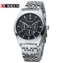Business Full Stainless Steel Quartz Men Watch