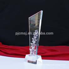 Attractive price new type custom crystal award trophy
