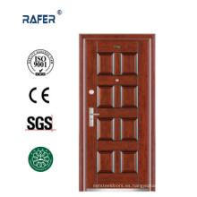 Venda la puerta de acero de 8 paneles bien (RA-S106)