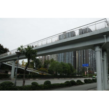 customized steel structure pedestrian bridge