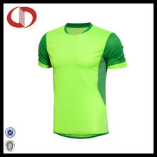 Alta qualidade seca Fit O-Neck Soccer Jersey da China