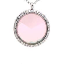 Relojes flotantes de la joyería de fantasía del acero inoxidable de la moda, colgante del medallón de la puerta de hadas