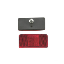 Plastic Bicycle Rear Red Reflector (HRF-005)