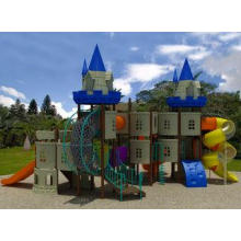 CE, TUV Approved Newest Castle Outdoor Playground For Prima