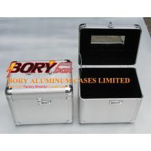 Ящик для инструмента серебра высокого качества алюминиевые полы с Подносами