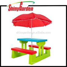Walmart Outdoor KD Kinder Kind Kunststoff Tisch und Stuhl Schreibtisch für Kinder lernen