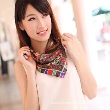 Silk Polyester Scarf (12-BR050320-6.9)
