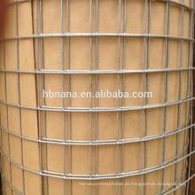 1/4 de polegada de malha de arame galvanizado galvanizado / rolo de malha de arame
