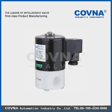 isolation diaphragm anti corrosive solenoid valve strong acid sea water PTFE material size1 inch normal close 2/2 solenoid valve