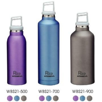 Edelstahl-Vakuum-Sportflasche (WBS21-500)