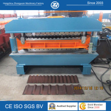 Roof Panel Corrugated Forming Double Deck Machine