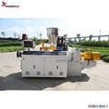 Plastic two cavity pvc pipe production line