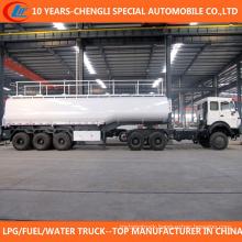 China 3 Axle 50 Cbm Fuel Tank Trailer for Sale
