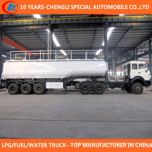 China 3 eixo 50 Cbm Fuel Tank Trailer para venda