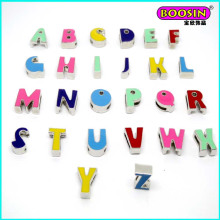 Wholsale High Quality Alloy Enamel Slider Letter a-Z Charms #11942