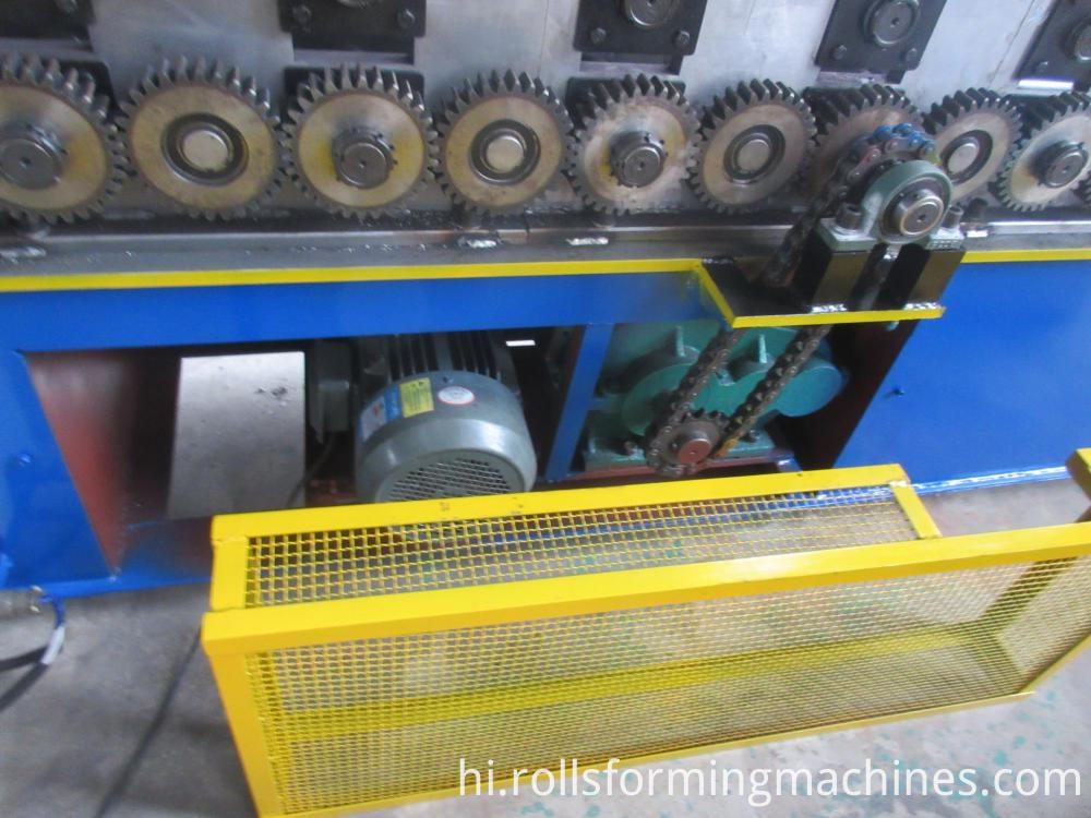 Shutter Door Silenced Guide Machine