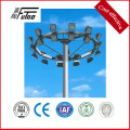 Steel Galvanized Stadium Light Pole