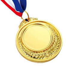 Médaille de souvenir plaquée or de moulage mécanique sous pression pour le sport