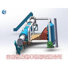 continuous rice husk activated carbon furnaces