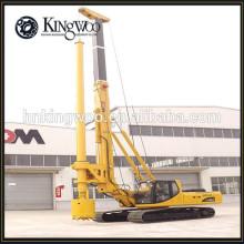 La construcción utiliza la máquina de perforación rotatoria hidráulica llena para el agujero de pilotaje