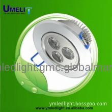 glass ceiling pendant light