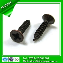 M3*14 Bronze Plated Flat Head Self Tapping Screw for furniture