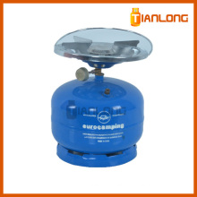 gas refillable 2kg lpg cylinder for camping