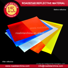 Various colors available reflective sheeting