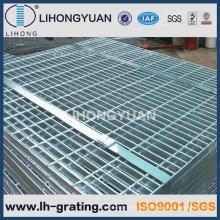 Alta calidad galvanizado de reja de acero